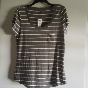 Express Striped T-shirt NWT Size Large